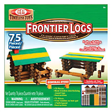 Ideal Frontier Logs Classic All Wood