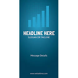 Custom Vertical Display Banner Bar Graph