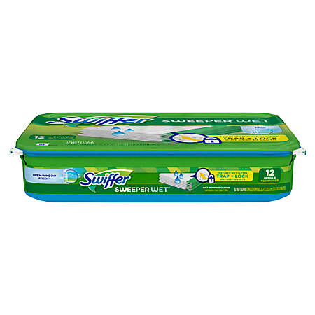 Swiffer® Disposable Wet Cloths, Pack Of 12