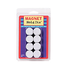 Dowling Magnets Magnet Dots 34 White
