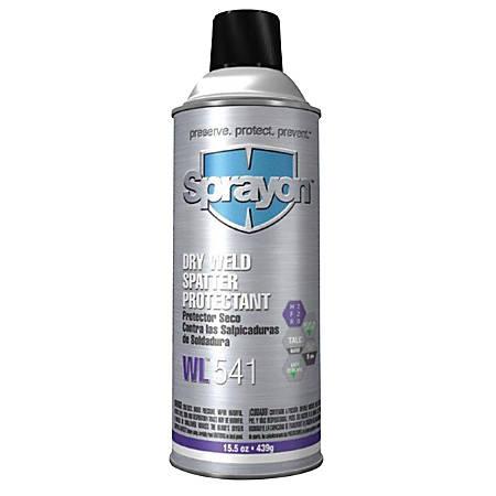 Sprayon® Welder's Powdered Anti-Spatter Aerosol Can, 15.5 Oz, White