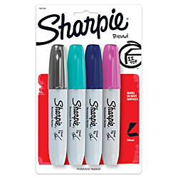 Sharpie Chisel Tip Permanent Markers Assorted