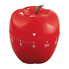 Baumgartens Shaped Timer Red Apple 4