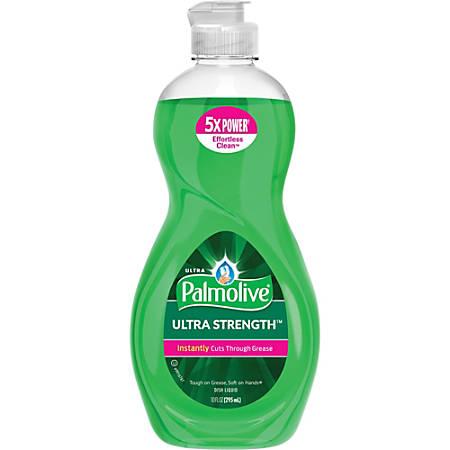 Palmolive Ultra Strength Liquid Dish Soap - Concentrate Liquid - 10 fl oz - 1 Each - Green