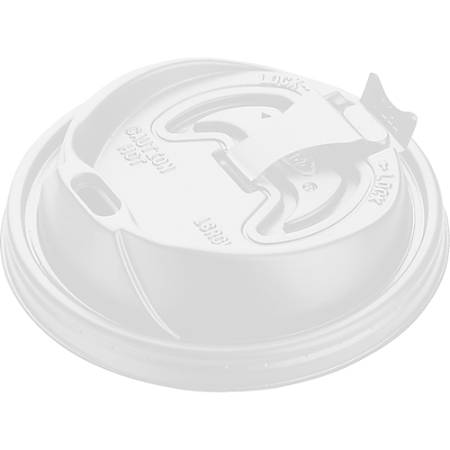 Dart Reclosable Hot Beverage Cup Lid - 100 / Pack - White
