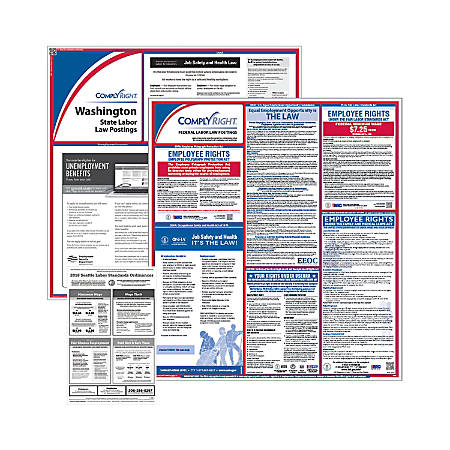 ComplyRight Federal, State And City Poster Subscription Service, English, Seattle, Washington