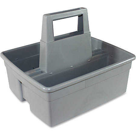 "Impact Products Maids' Basket - 5"" Height x 11"" Width x 12.3"" Depth - Gray - 1Each"