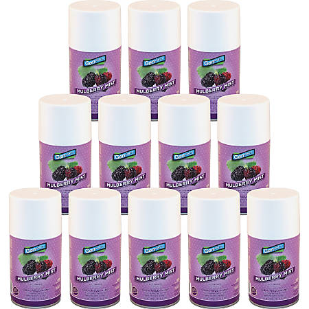 Impact Products Freshener Metered Aerosol 7.0 oz Mulberry Mist - Aerosol - 6000 ft³ - 7 oz - Mulberry Mist - 30 Day - 1 Each - CFC-free, HCFC-free, Residue-free