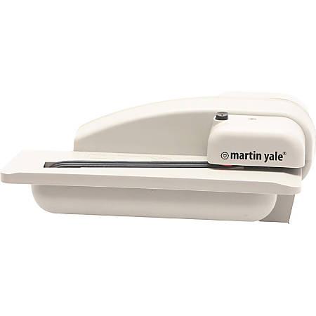 Martin Yale Premier Automatic Desktop Letter Opener - Electric - 3000 Envelopes Per Hour - Gray