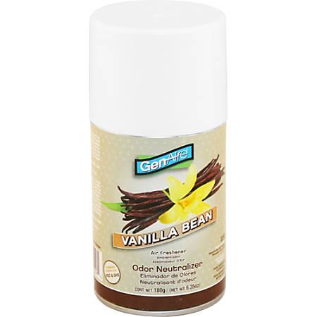 Impact Products Air Freshener Metered Aerosol 7.0 oz Vanilla Bean - Aerosol - 6000 ft³ - 7 oz - Vanilla Bean - 30 Day - 1 Each - CFC-free, HCFC-free, Residue-free