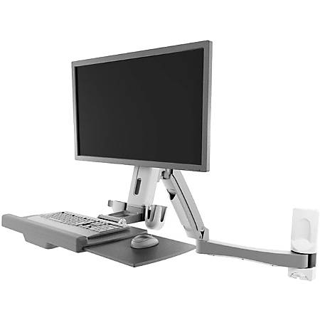 Atdec Sit-Stand Workstation - 1 Display(s) Supported - 17.60 lb Load Capacity