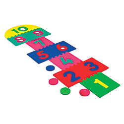 WonderFoam Games Giant Hopscotch Mat