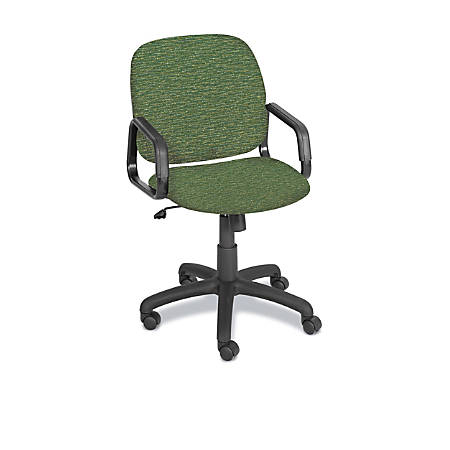 Safco® Cava Urth Fabric High-Back Chair, Green
