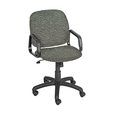 Safco® Cava Urth Fabric High-Back Chair, Gray