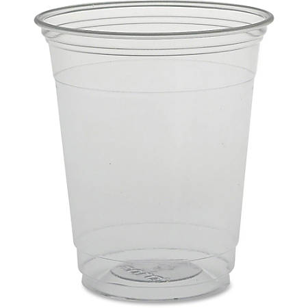 Solo Plastic Disposable Cups - 12 fl oz - 1000 / Carton - Clear - PETE Plastic - Cold Drink, Water, Juice, Soda