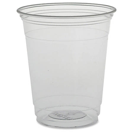 Solo Plastic Disposable Cups - 12 fl oz - 1000 / Carton - Clear - PETE Plastic - Cold Drink, Water, Juice, Soda