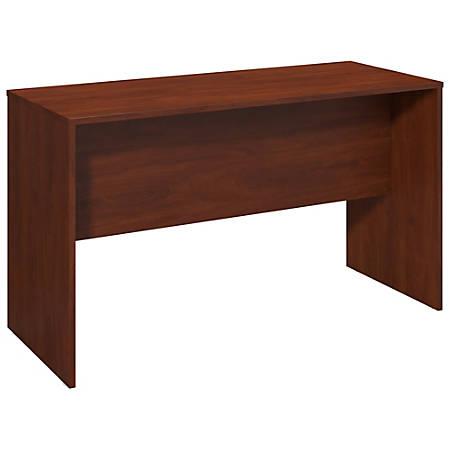 """Bush Business Furniture Components Elite Standing Desk, 72""""W x 24""""D, Hansen Cherry, Premium Installation"""