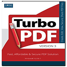 TurboPDF v3 Download Version