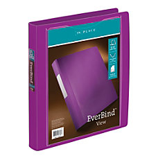 INPLACE EverBind View D Ring Binder