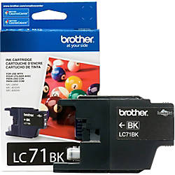 Brother Innobella LC71BK Ink Cartridge Inkjet