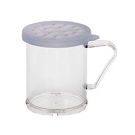 Cambro Camwear Parsley Shaker With Lid, 10 Oz