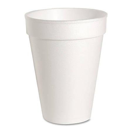 Genuine Joe Hot/Cold Foam Cups, 14 Oz., Carton Of 1000