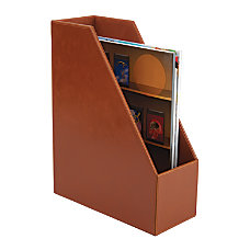Realspace Leatherette MagazineFile Holder 10 18