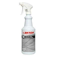Betco Corporation Stainless Steel Cleaner And