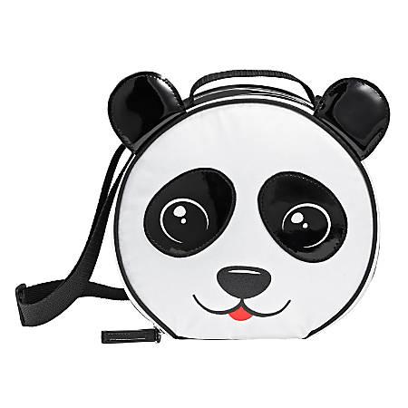 Fit & Fresh Camilla Panda Lunch Bag, Black