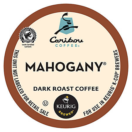 Caribou Coffee® Pods Mahogany Coffee K-Cup® Pods, Box Of 24