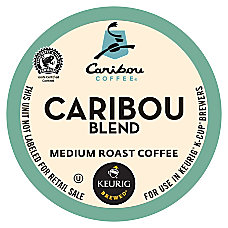 Caribou Coffee Pods Caribou Blend Coffee