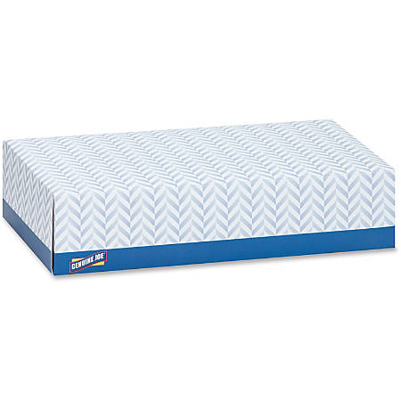 Genuine Joe 2-Ply Facial Tissue, 100 Sheets Per Box, Case Of 30 Boxes