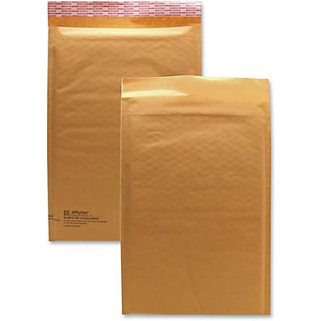 "Sealed Air JiffyLite Cellular Cushioned Mailers - Bubble - #3 - 8 1/2"" Width x 14 1/2"" Length - Peel & Seal - Kraft - 25 / Carton - Kraft"