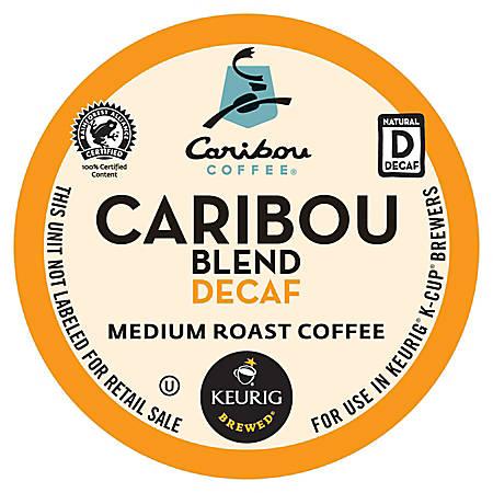 Caribou Coffee® Caribou Blend Decaffeinated Coffee K-Cups®, Box Of 24