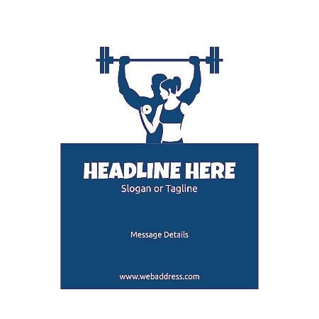 Custom Flyer, Vertical, Weight Lifting