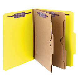 Smead Pressboard Classification Folders With SafeSHIELD