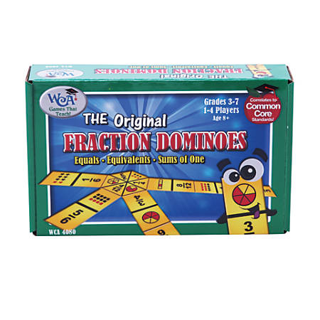 Learning Advantage™ The Original Fraction Dominoes Game