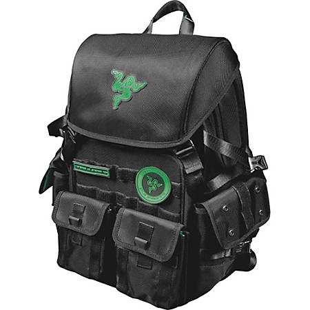 "Mobile Edge Razer Carrying Case (Backpack) for 17.3"" Notebook - Black"