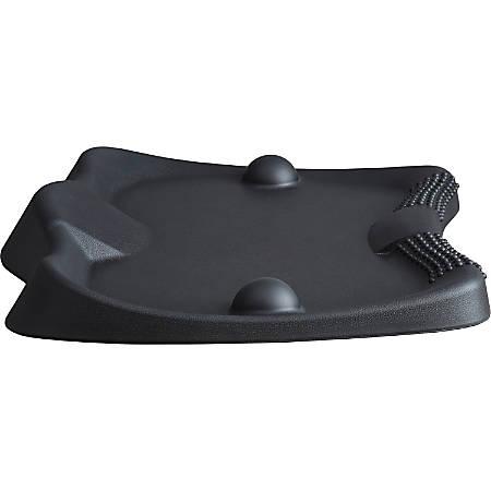 "Lorell Active Antifatigue Mat - Counter, Workstation26.40"" Width x 2.40"" Thickness x 21.60"" Diameter - Rectangle - Black"