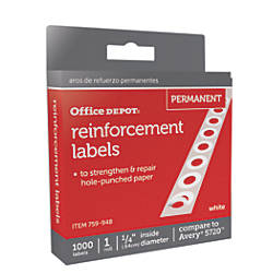 Office Depot Brand Permanent Self Adhesive