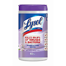 Lysol Disinfecting Wipes Early Morning Breeze