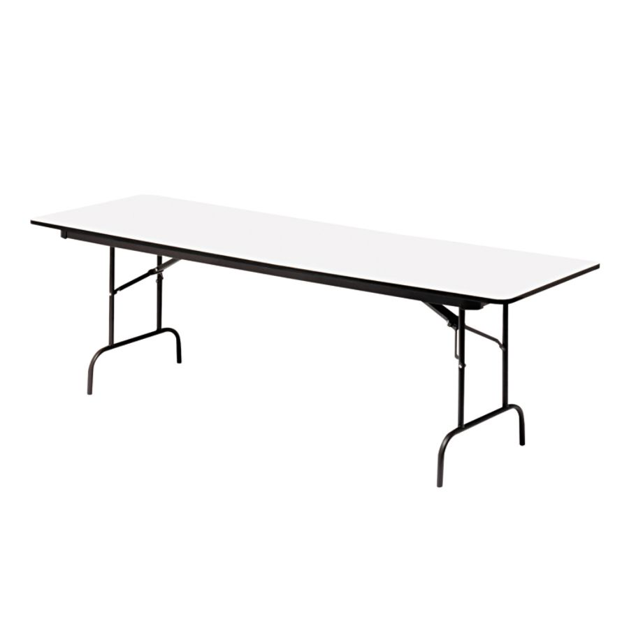 Iceberg Premium Wood Laminate Folding Table Rectangular 72 W X 30 D  GrayCharcoal By Office Depot U0026 OfficeMax