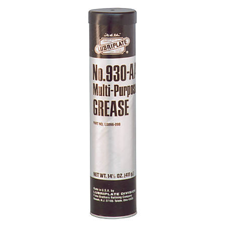 930 Series Multi-Purpose Grease, 14 1/2 oz, Cartridge, NLGI Grade 1
