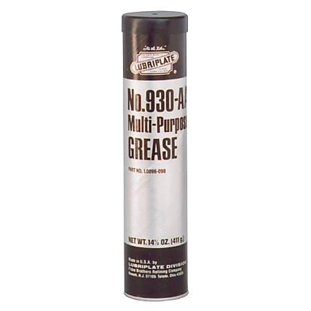 930 Series Multi-Purpose Grease, 14 1/2 oz, Cartridge, NLGI Grade 1