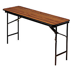Iceberg Deluxe Folding Table Rectangle 72