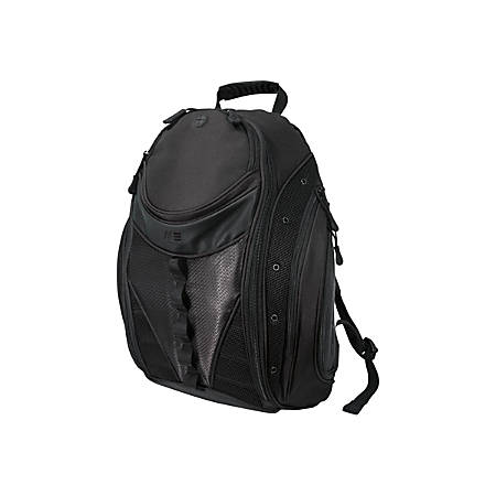 "Mobile Edge Express MEBPE12 Carrying Case (Backpack) for 16"" to 17"" Notebook - Black - 900 x 600D Ballistic Nylon - Shoulder Strap - 20"" Height x 16"" Width x 8.5"" Depth"