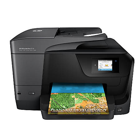 Hp Officejet Pro 8710 All In One Wireless Printer With Mobile Printing M9l66a