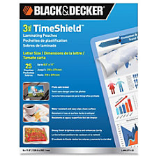 Black Decker 3 mil TimeShield Thermal
