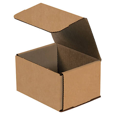 """Office Depot® Brand Corrugated Mailers, 5"""" x 4"""" x 3"""", Kraft, Pack Of 50"""