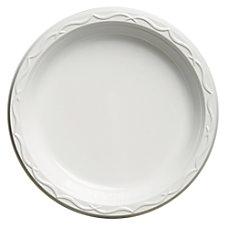 Genpak Aristocrat Plastic Plates 9 White